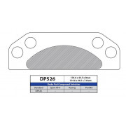 BRAKE PAD POLARIS DP526 | Fabrikantcode: DP526 | Fabrikant: DP BRAKES | Cataloguscode: 1721-1735