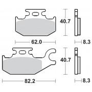 MOTOMASTER BRAKEPAD NITRO   Fabrikantcode: 95721   Fabrikant: MOTO-MASTER   Cataloguscode: 1721-1875