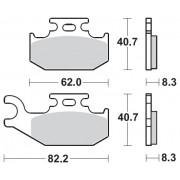 Motomaster Brakepad 0963 | Fabrikantcode: 96321 | Fabrikant: MOTO-MASTER | Cataloguscode: 1721-1876