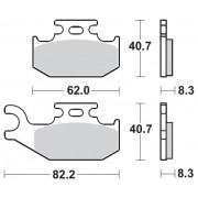 MOTOMASTER BRAKEPAD NITRO   Fabrikantcode: 96321   Fabrikant: MOTO-MASTER   Cataloguscode: 1721-1876