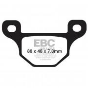 BRAKE PAD SINTER ATV NITR | Fabrikantcode: 98721 | Fabrikant: MOTO-MASTER | Cataloguscode: 1721-2122