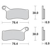 Remblokken KTM 450 XC Quad 08-10 vooraan.