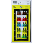 FUSES STANDRD ASSORT 10PC CARD| Artikelnr: 21300169