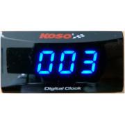 CLOCK BLUE SUPER SLIM | Fabrikantcode: BA024B20 | Fabrikant: KOSO NORTH AMERICA | Cataloguscode: 2211-0149
