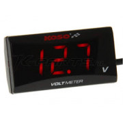 VOLT METER RED SUPER SLIM   Fabrikantcode: BA024R00   Fabrikant: KOSO NORTH AMERICA   Cataloguscode: 2212-0563