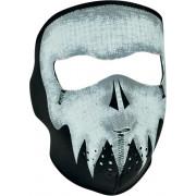 FACE MASK GREY SKULL GLOW| Artikelnr: 25030208