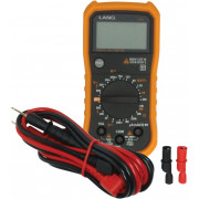 MULTIMETER DIGITAL | Fabrikantcode: 13809 | Fabrikant: LANG TOOLS | Cataloguscode: 3807-0223