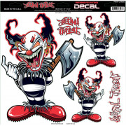 DECAL AX CLOWN LRG | Fabrikantcode: LT06043 | Fabrikant: LETHAL THREAT | Cataloguscode: 4320-1245