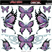 DECAL BUTTERFLY SHEET | Fabrikantcode: LT06042 | Fabrikant: LETHAL THREAT | Cataloguscode: 4320-1249