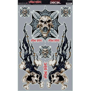 DECAL IRON CROSS SKULL KT | Fabrikantcode: QK10002 | Fabrikant: LETHAL THREAT | Cataloguscode: 4320-1254