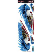 DECAL FEATHERED EAGLES | Fabrikantcode: LT02063 | Fabrikant: LETHAL THREAT | Cataloguscode: 4320-1259