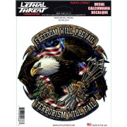 DECAL FREEDOM PREVAIL | Fabrikantcode: LT90687 | Fabrikant: LETHAL THREAT | Cataloguscode: 4320-1304