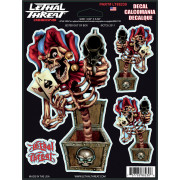 DECAL JESTER OUT OF BOX | Fabrikantcode: LT88230 | Fabrikant: LETHAL THREAT | Cataloguscode: 4320-1322