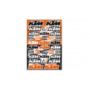 DECAL LOGO KIT KTM PVC| Artikelnr: 43201775