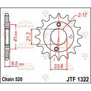SPROCKET FRONT 15T 520 | Fabrikantcode: JTF1322.15 | Fabrikant: JT SPROCKETS | Cataloguscode: JTF1322-15