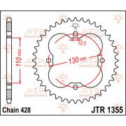 SPROCKET, RR 48T | Fabrikantcode: JTR1355.48 | Fabrikant: JT SPROCKETS | Cataloguscode: JTR1355-48