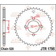 SPROCKET REAR 22T 520 | Fabrikantcode: JTR1795.22 | Fabrikant: JT SPROCKETS | Cataloguscode: JTR1795-22