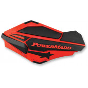 HANDGUARDS RED/BLK POL | Cataloguscode: 0635-1056 | Fabrikantcode: 34402