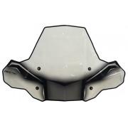 Windscherm Cobra ProTEK windscherm zonder uitsparing voor koplamp. | Cataloguscode: 2317-0124 | Fabrikantcode: 24571