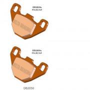 Remblokken Barossa/SMC 170 achteraan. (Model met de remschijven vooraan)