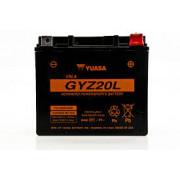 Accu / Battery GYZ20L | Fabrikantcode: YUAM720GZ | Fabrikant: YUASA | Cataloguscode: 2113-0282