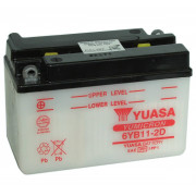 Accu / Battery 6YB11-2D | Fabrikantcode: YUAM2611L | Fabrikant: YUASA | Cataloguscode: 6YB11-2D