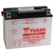 Accu / Battery SY50-N18L-AT | Fabrikantcode: YUAM22S8T | Fabrikant: YUASA | Cataloguscode: SY50-N18L-AT