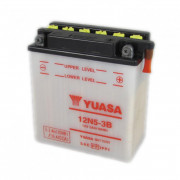 Accu / Battery Y12N5-3B | Fabrikantcode: YUAM2253B | Fabrikant: YUASA | Cataloguscode: Y12N5-3B