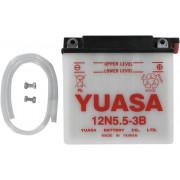 Accu / Battery Y12N5.5A-3B | Fabrikantcode: YUAM22A5B | Fabrikant: YUASA | Cataloguscode: Y12N5.5A-3B