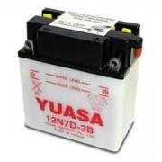 Accu / Battery Y12N7D-3B | Fabrikantcode: YUAM227DB | Fabrikant: YUASA | Cataloguscode: Y12N7D-3B