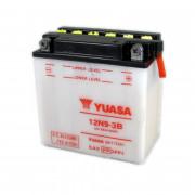 Accu / Battery Y12N9-3B | Fabrikantcode: YUAM2293B | Fabrikant: YUASA | Cataloguscode: Y12N9-3B