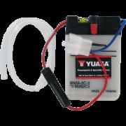 Accu / Battery Y6N2A-2C-3   Fabrikantcode: YUAM262C3   Fabrikant: YUASA   Cataloguscode: Y6N2A-2C-3