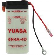 Accu / Battery Y6N4A-4D | Fabrikantcode: YUAM26A4B | Fabrikant: YUASA | Cataloguscode: Y6N4A-4D