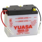 Accu / Battery Y6N4B-2A-3   Fabrikantcode: YUAM26B43   Fabrikant: YUASA   Cataloguscode: Y6N4B-2A-3