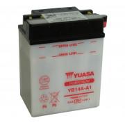Accu / Battery YB14A-A1 | Fabrikantcode: YUAM224A1 | Fabrikant: YUASA | Cataloguscode: YB14A-A1
