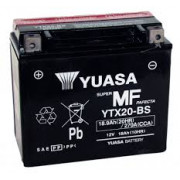 Accu / Battery YTX-20BS | Fabrikantcode: YUAM32RBS | Fabrikant: YUASA | Cataloguscode: YTX-20BS