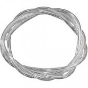 """Benzineslang 1/4"""" (6.35mm) diameter en een lengte van 91cm. Transparant."""