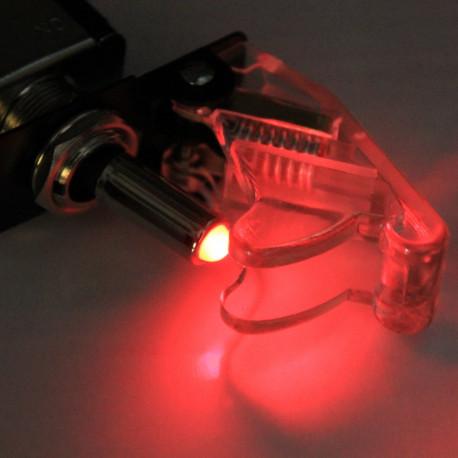Universele schakelaar afgeschermd 20Amp met LED.