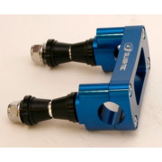 STEERING STEM CLAMP BLU 22MM | Artikelcode:S-TEC-ABM-MS25-BLU22 | Fabrikant:Silver tec Accessories