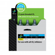 CO2 CARTR 25G 15PK THREA| Artikelnr: 03630072| Fabrikant:GENUINE INNOVATIONS