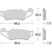 Motomaster Brakepad 0934 | Fabrikantcode: 93422 | Fabrikant:MOTO-MASTER | Cataloguscode: 1721-2126