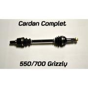 ART Cardan : Yamaha Grizzly 700 2007-2013 achteraan.