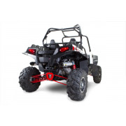 Two Brothers 2011 Polaris Ranger RZR900XP Dual M7 V.A.L.E. Stainless Steel Full Exhaust System