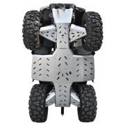Skidplate, CF MOTO X8 A (Aluminum A-Arms)