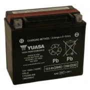 Accu / Battery YTX20H-BS   Fabrikantcode: YUAM62RBH   Fabrikant: YUASA   Cataloguscode: YTX20H-BS
