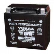 Accu / Battery YTX14H-BS | Fabrikantcode: YUAM6RH4H | Fabrikant: YUASA | Cataloguscode: 2113-0034