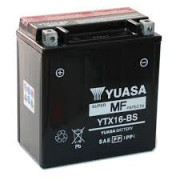 Accu / Battery YTX16-BS | Fabrikantcode: YUAM32X6S | Fabrikant: YUASA | Cataloguscode: YTX16-BS