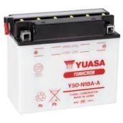 Accu / Battery Y50-N18A-A | Fabrikantcode: YUAM228AY | Fabrikant: YUASA | Cataloguscode: Y50-N18A-A