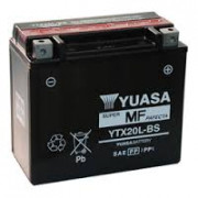 Accu / Battery YTX20L-BS | Fabrikantcode: YUAM320BS | Fabrikant: YUASA | Cataloguscode: YTX20L-BS