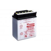 Accu / Battery YB14A-A2 | Fabrikantcode: YUAM2214A | Fabrikant: YUASA | Cataloguscode: YB14A-A2